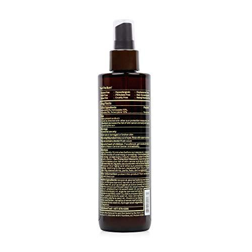 41NfBiEywEL - Sun Bum Moisturizing Tanning Oil, SPF 15, 8.5 oz Bottle, 1 Count, Broad Spectrum UVA/UVB Protection, Coconut Oil, Aloe Vera, Hypoallergenic, Paraben Free, Gluten Free, Vegan