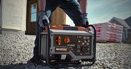 41Om7PYx6UL. AC  - Generac GP3500iO Open Frame RV Ready Inverter Generator - 3500 Starting Watts with PowerRush Technology