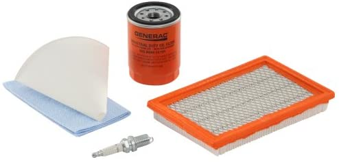 41XoJnDxWbL. AC  - Generac 6482 Scheduled Maintenance Kit for Home Standby Generators with 8 kW 410cc Engines