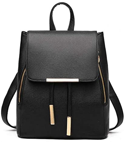 41ZQRizyUkL. AC  - B&E LIFE Fashion Shoulder Bag Rucksack PU Leather Women Girls Ladies Backpack Travel bag