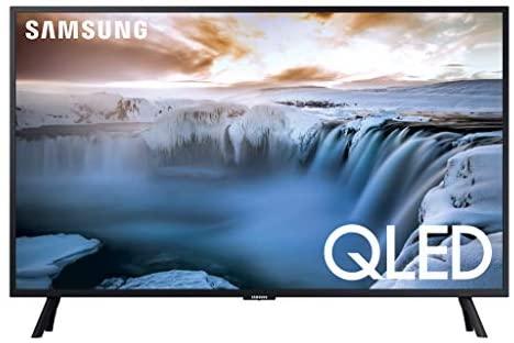 """41f2K0VZFL. AC  - SAMSUNG QN32Q50RAFXZA Flat 32"""" QLED 4K 32Q50 Series Smart TV"""