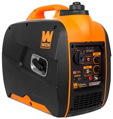 41oEJ0jTEtL. AC  - WEN 56225i 2250-Watt Gas Powered Portable Inverter Generator with Fuel Shut-Off, CARB Compliant