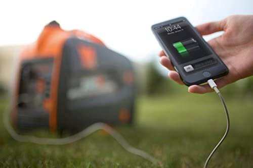 41rh5kLw0sL. AC  - WEN 56225i 2250-Watt Gas Powered Portable Inverter Generator with Fuel Shut-Off, CARB Compliant