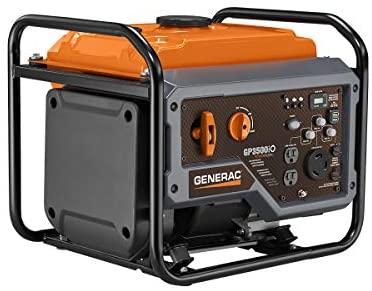 41uWiqEWruL. AC  - Generac GP3500iO Open Frame RV Ready Inverter Generator - 3500 Starting Watts with PowerRush Technology