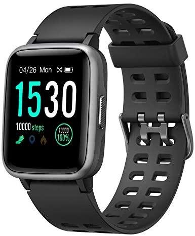 41uykdcmzDL. AC  - YAMAY Smart Watch for Android and iOS Phone IP68 Waterproof, Fitness Tracker Watch with Heart Rate Monitor Step Sleep Tracker, Smartwatch Compatible with iPhone Samsung, Watch for Men Women