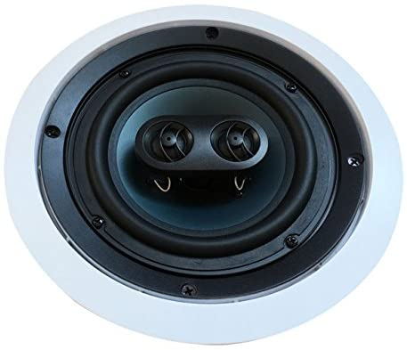 41yWP7x1wTL. AC  - 652S2C Silver Ticket in-Wall in-Ceiling Speaker with Pivoting Tweeter (2 Channel Stereo 6.5 Inch in-Ceiling) 9.4 inch Overall Size