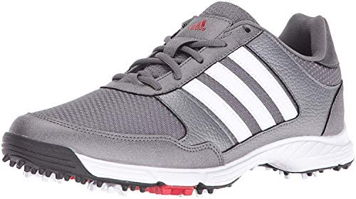 41zEv+I33BL. AC  - adidas Men's Tech Response Golf Shoes
