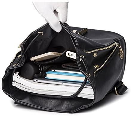 51 wRxDARpL. AC  - B&E LIFE Fashion Shoulder Bag Rucksack PU Leather Women Girls Ladies Backpack Travel bag