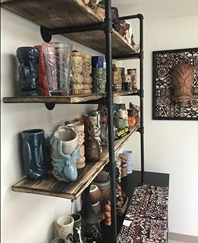 511hkS9UXyL. AC  - Industrial Retro Wall Mount Iron Pipe Shelf,DIY Open Bookshelf,Hung Bracket,Home Improvement Kitchen Shelves,Tool Utility Shelves, Office Shelves,Ceiling Mount Shelf Shelves