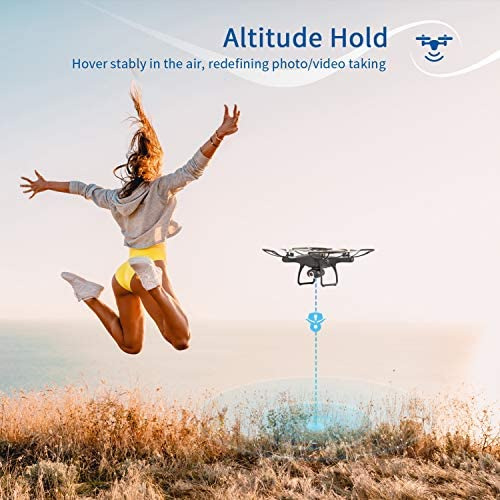 51E8 umv jL. AC  - SNAPTAIN SP650 1080P Drone with Camera for Adults 1080P HD Live Video Camera Drone for Beginners w/Voice Control, Gesture Control, Circle Fly, High-Speed Rotation, Altitude Hold, Headless Mode