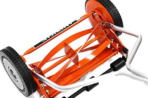 51F1+Fe4qbL. AC  - American Lawn Mower Company 1204-14 14-Inch 4-Blade Push Reel Lawn Mower, Red
