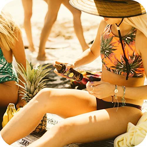51FwtE+ +5L - Sun Bum Moisturizing Tanning Oil, SPF 15, 8.5 oz Bottle, 1 Count, Broad Spectrum UVA/UVB Protection, Coconut Oil, Aloe Vera, Hypoallergenic, Paraben Free, Gluten Free, Vegan