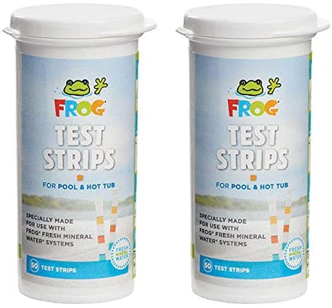 51LG3kJh29L. AC  - Frog Pool & Hot Tub Test Strips - 100 Count (pack of 2 - 50 strips)