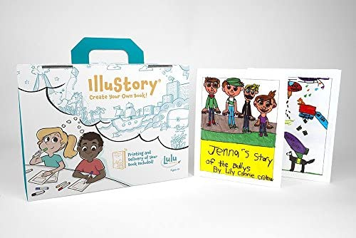 51PEGvVORPL. AC  - Lulu Jr. Illustory Book Making Kit, Multicolor