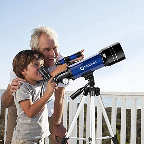 51QgRDNVsJL. AC  - Telescope for Kids Beginners Adults, 70mm Astronomy Refractor Telescope with Adjustable Tripod - Perfect Telescope Gift for Kids