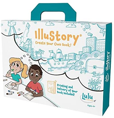 51d0rl27zXL. AC  - Lulu Jr. Illustory Book Making Kit, Multicolor