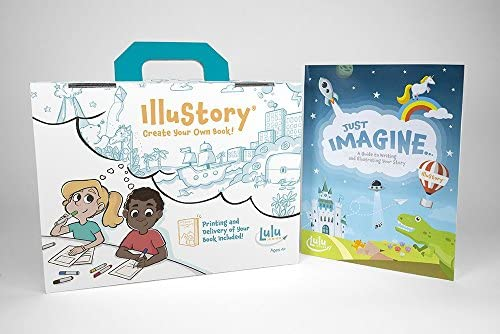 51oKSDi9fuL. AC  - Lulu Jr. Illustory Book Making Kit, Multicolor