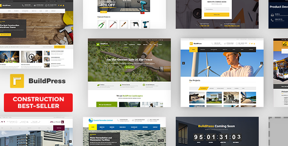 590.  large preview - BuildPress - Multi-purpose Construction and Landscape WP Theme