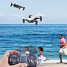 804c9c60 ea08 4b29 8900 7dac7bbfe64a.  CR0,0,300,300 PT0 SX220 V1    - SIMREX X300C Mini Drone RC Quadcopter Foldable Altitude Hold Headless RTF 360 Degree FPV Video WiFi 720P HD Camera 6-Axis Gyro 4CH 2.4Ghz Remote Control Super Easy Fly for Training(White)