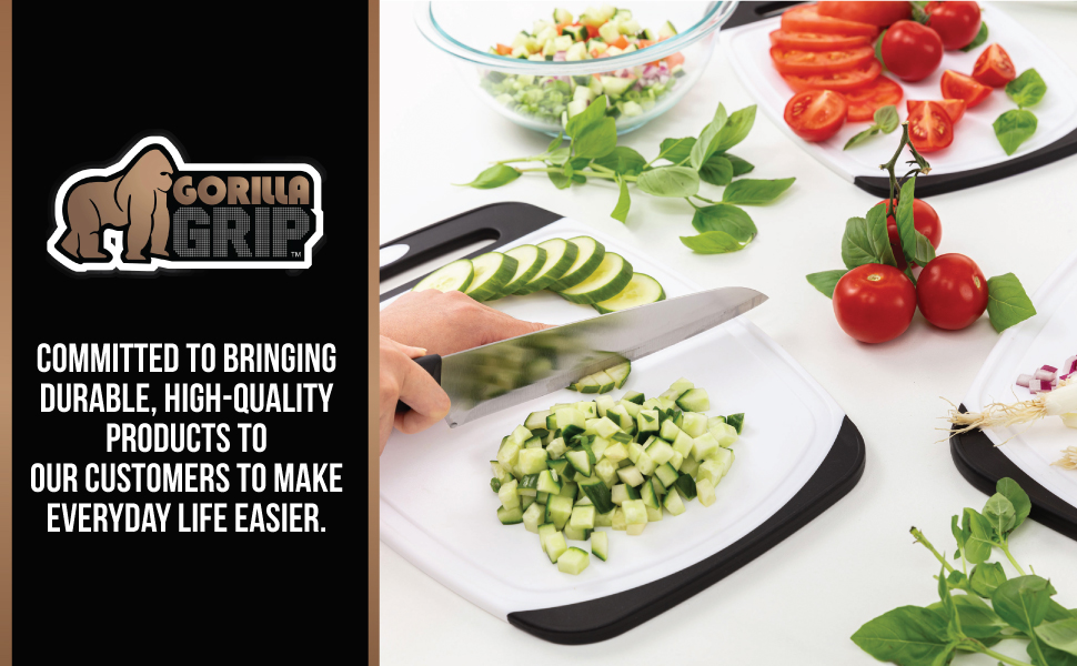 95b18982 57a9 4068 89ab b41f0dfe1b97.  CR0,0,970,600 PT0 SX970 V1    - Gorilla Grip Original Oversized Cutting Board, 3 Piece, BPA Free, Dishwasher Safe, Juice Grooves, Larger Thicker Boards, Easy Grip Handle, Non Porous, Extra Large, Kitchen, Set of 3, Black
