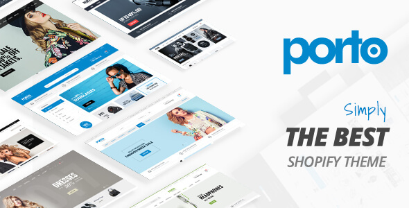 Preview Shopify.  large preview - Porto - Responsive Shopify Theme