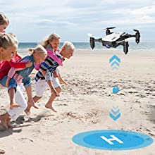 a575ed7c d458 41d3 853a 0bd2d0c8ded1.  CR0,0,300,300 PT0 SX220 V1    - SIMREX X300C Mini Drone RC Quadcopter Foldable Altitude Hold Headless RTF 360 Degree FPV Video WiFi 720P HD Camera 6-Axis Gyro 4CH 2.4Ghz Remote Control Super Easy Fly for Training(White)