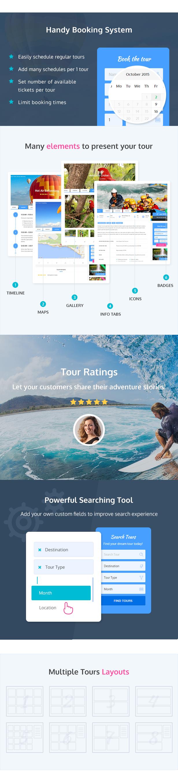 adventure tours features2 - Adventure Tours - WordPress Tour/Travel Theme