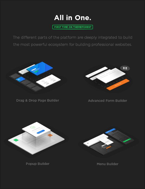 allinone - MEGAPACK – Marketing HTML Landing Pages Pack + PixFort Page Builder Access