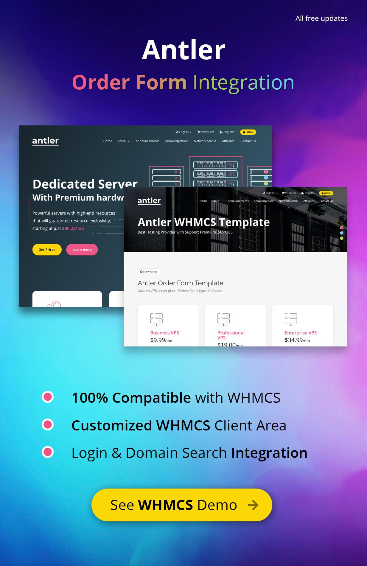 antler01 - Antler - Hosting Provider & WHMCS Template
