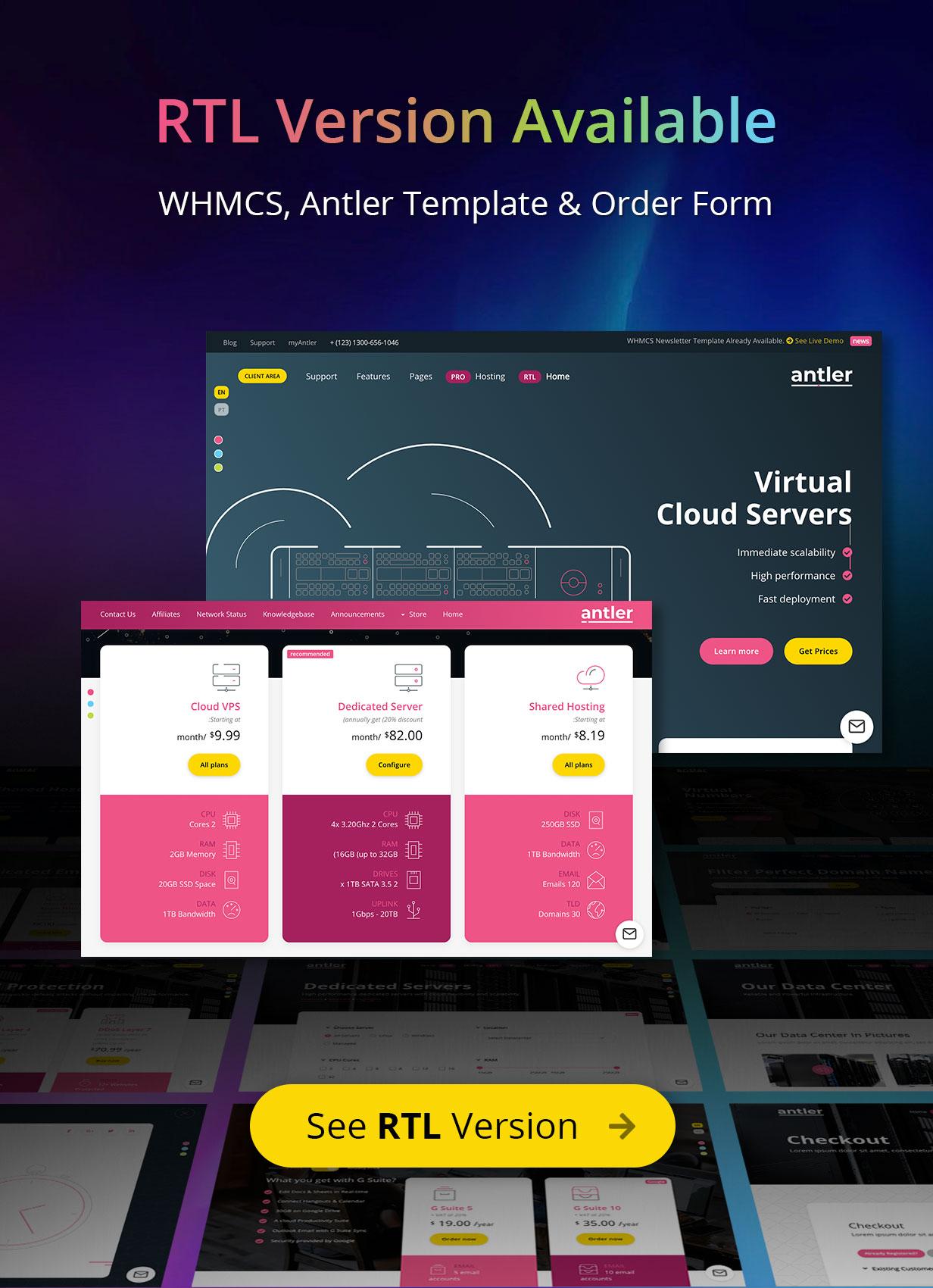 antler13 - Antler - Hosting Provider & WHMCS Template