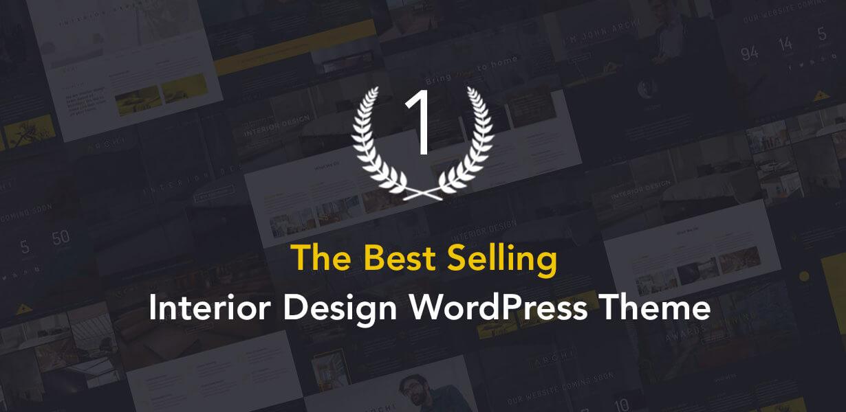 archi best selling - Archi - Interior Design WordPress Theme