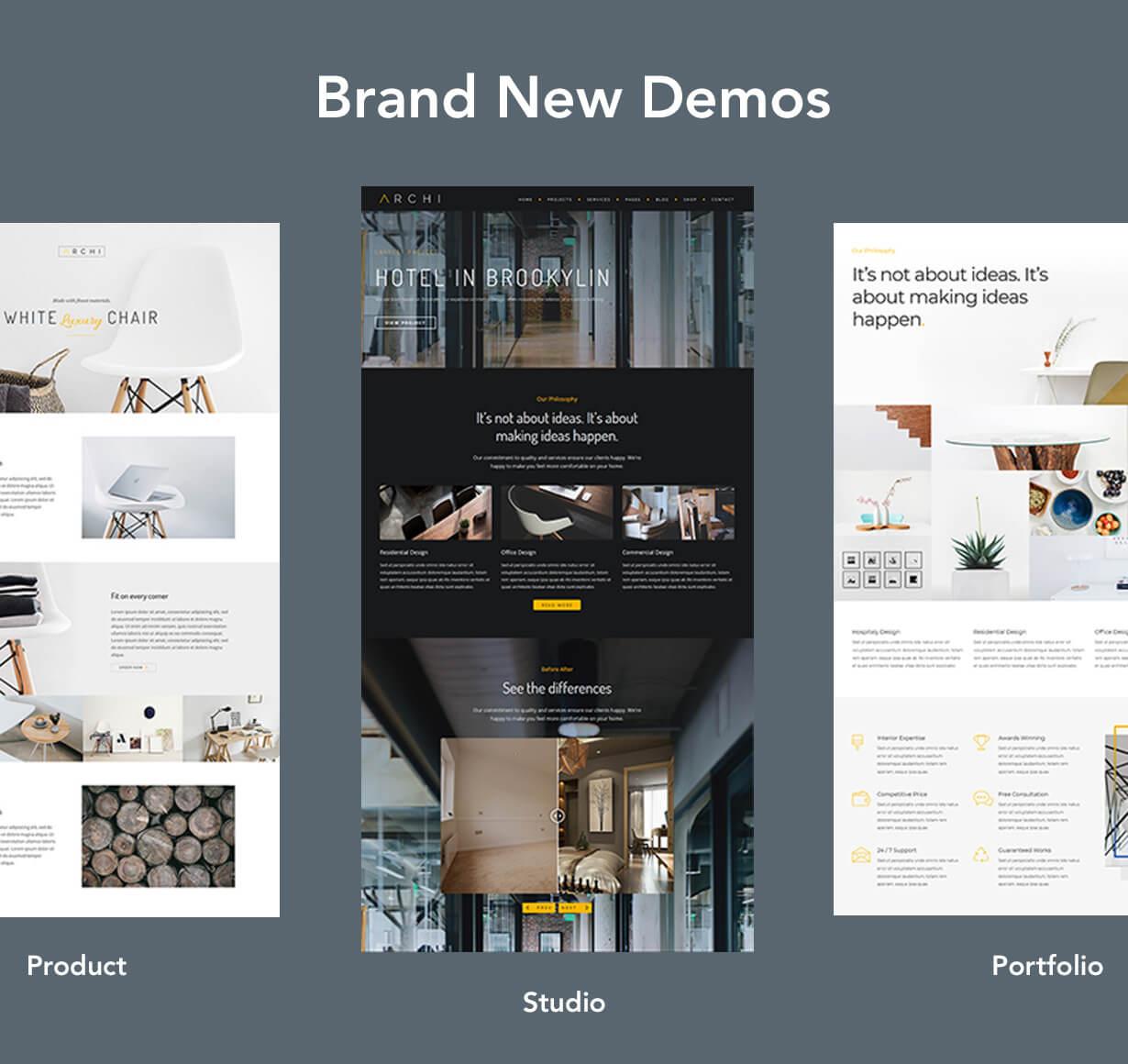 archi new demo - Archi - Interior Design WordPress Theme