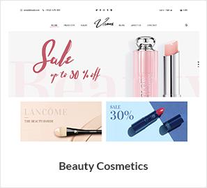 beauty cosmetics - Nitro - Universal WooCommerce Theme from ecommerce experts