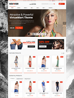 boxed layout - Reviver - Responsive Multipurpose VirtueMart Theme