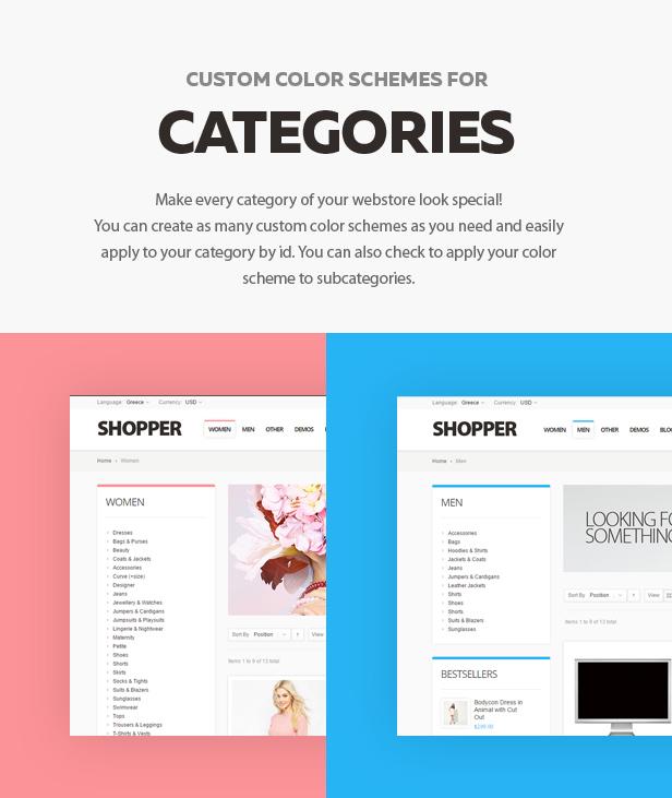 categories - Shopper - Magento Theme, Responsive & Retina Ready