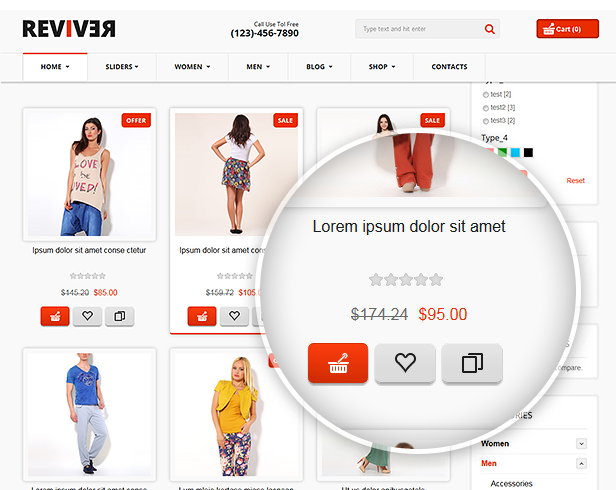 category page layout2 - Reviver - Responsive Multipurpose VirtueMart Theme
