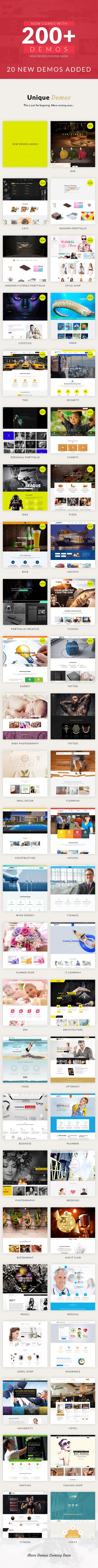 demos - VEDA MultiPurpose WordPress