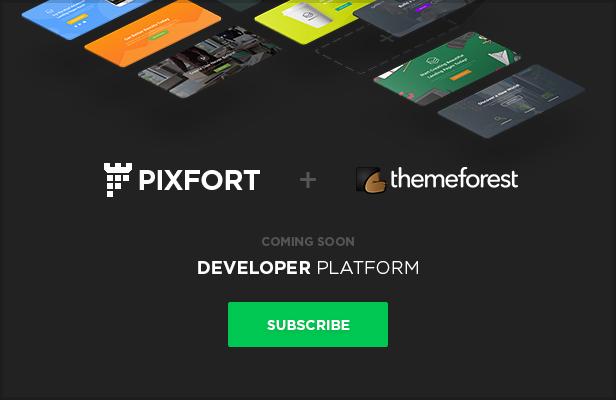 developer platform - MEGAPACK – Marketing HTML Landing Pages Pack + PixFort Page Builder Access