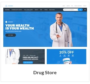 drug store woocommerce theme new - Nitro - Universal WooCommerce Theme from ecommerce experts