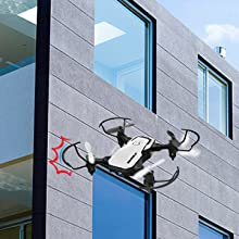 ec6cf245 c267 46d4 bf2f 52a3cedb31e2.  CR0,0,300,300 PT0 SX220 V1    - SIMREX X300C Mini Drone RC Quadcopter Foldable Altitude Hold Headless RTF 360 Degree FPV Video WiFi 720P HD Camera 6-Axis Gyro 4CH 2.4Ghz Remote Control Super Easy Fly for Training(White)