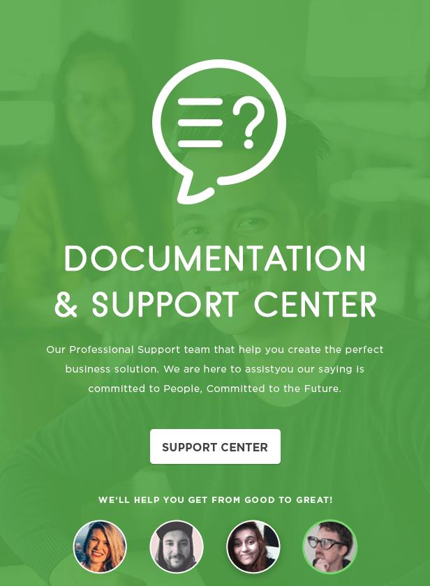 features jobcareer support2 - JobCareer   Job Board Responsive WordPress Theme