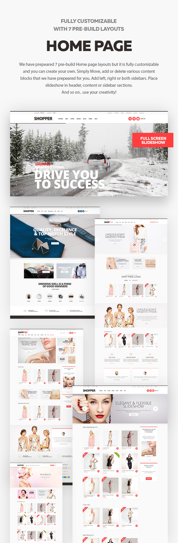 homepage - Shopper - Magento Theme, Responsive & Retina Ready