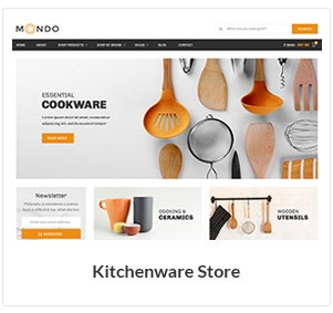 kitchenware store woocommerce theme new - Nitro - Universal WooCommerce Theme from ecommerce experts