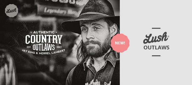 marketing lush outlaws - Lush - Music Band & Musician WordPress Theme