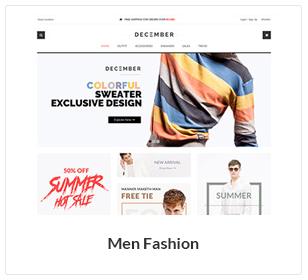 men fashion woocommerce theme - Nitro - Universal WooCommerce Theme from ecommerce experts