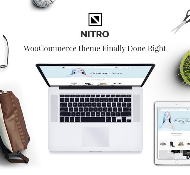 nitro theme intro 2 - Nitro - Universal WooCommerce Theme from ecommerce experts