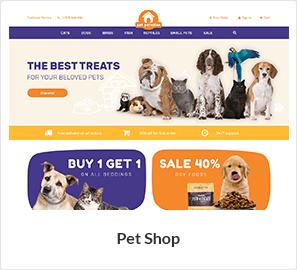 pets store woocommerce theme - Nitro - Universal WooCommerce Theme from ecommerce experts