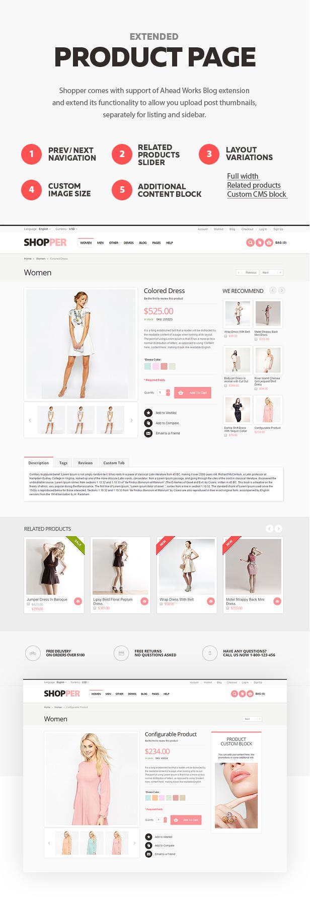 product - Shopper - Magento Theme, Responsive & Retina Ready
