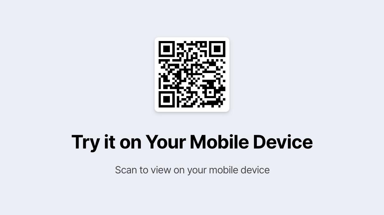 qr block5 - Mobilekit - Bootstrap 4 Based HTML Template