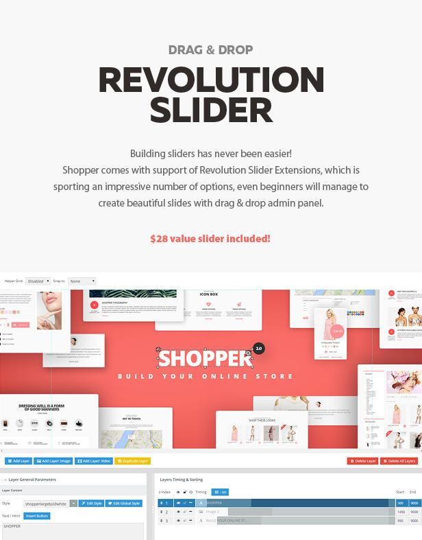 revolution - Shopper - Magento Theme, Responsive & Retina Ready